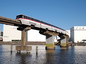 Tokyo Monorail 1000 series - Image: Tokyo Monorail 1085F History Train Original Color