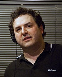 Tom Scharpling Tom Scharpling on The Best Show on WFMU, 2009.jpg