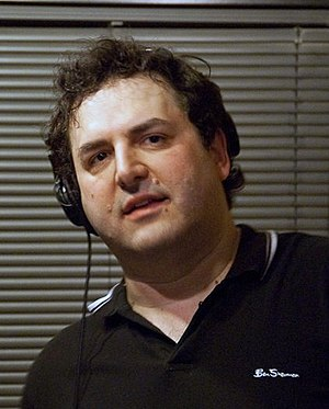 Tom Scharpling - Image: Tom Scharpling on The Best Show on WFMU, 2009