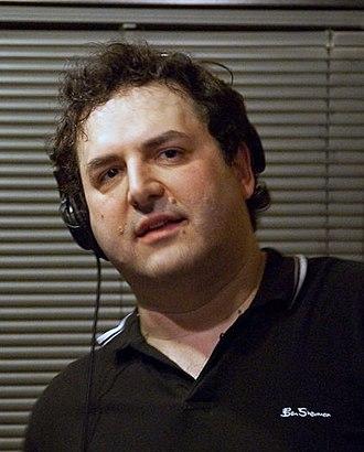 Tom Scharpling - Image: Tom Scharpling on The Best Show on WFMU, 2009
