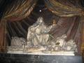Tomb effigy of heart of King John II Casimir Vasa at Abbaye de Saint-Germain-des-Prés -in Paris.PNG