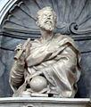 Tomba di galileo, busto di galileo di giovan battista foggini.JPG