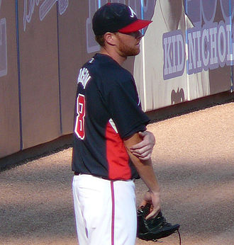 Tommy Hanson - Hanson with the Braves in 2009.