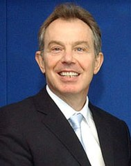Premier Tony Blair