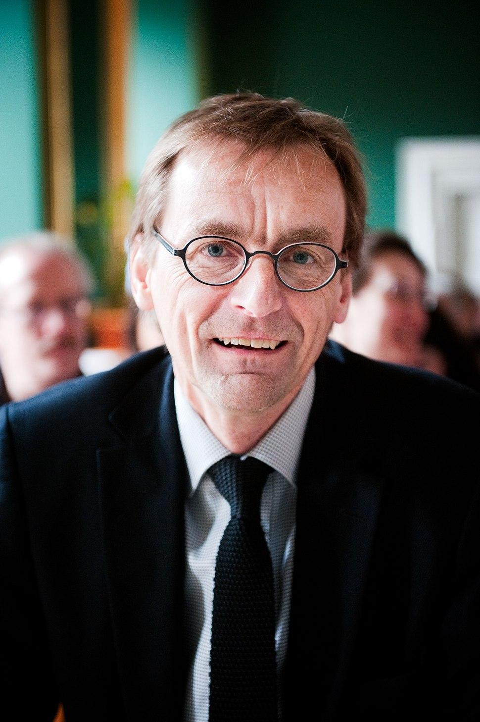 Torben M. Andersen professor i nationalekonomi arhus universitet pa konferensen Fiscal consequences of the crises, som anornades av de nordiska finansministrarna 2010-03-22