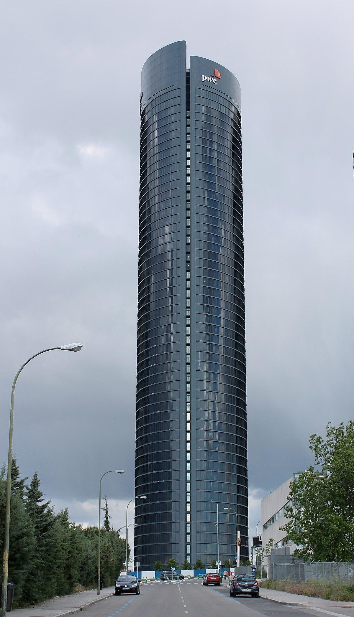 Torre pwc wikipedia la enciclopedia libre - Oficinas de iberdrola en madrid ...