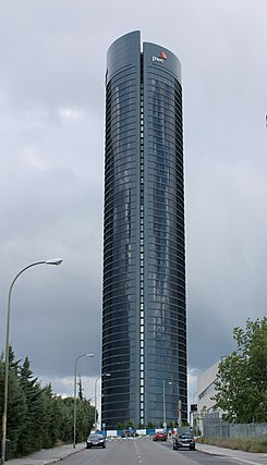 Torre pwc wikipedia la enciclopedia libre - Oficina iberdrola madrid ...
