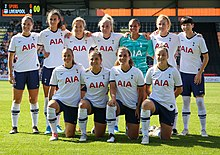 Tottenham Hotspur F C Women Wikipedia