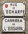 Toulouse - Rue de l'Écharpe - Plaque.jpg