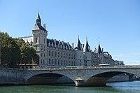 Tour de l'Horloge, Palais de la Cité, Paris 3 September 2016.jpg