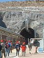 Tour group entering North Portal of Yucca Mountain.jpg