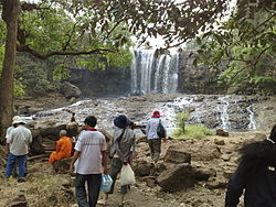 Tourists at Bou Sra Waterfall, Mondulkiri, Cambodia.jpg