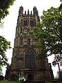 Tower of St Giles Church, Wrexham - DSC05650.JPG