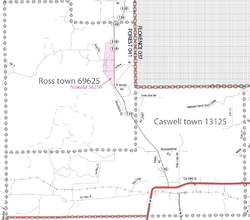 The Towns of Ross and Caswell, Wisconsin