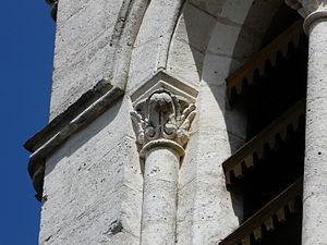 Abat-son - Image: Trélissac église chapiteau abat son (2)