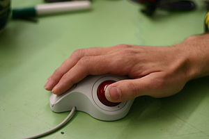 Bias against left-handed people - A right-handed trackball is difficult to use with the left hand.