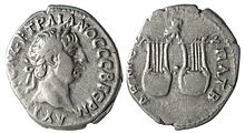 Silver Drachm of Trajan from Lycia, minted during Roman rule.