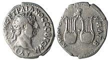 Серебряная драхма Траяна из Ликии, отчеканенная во время римского владычества.