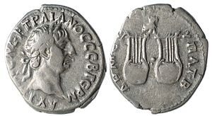 Lycia - Silver Drachm of Trajan from Lycia, 98-99 AD, minted during Roman rule.