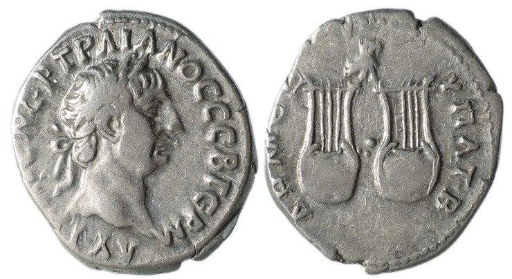 Trajan Drachm of Lycia, 98-99 AD