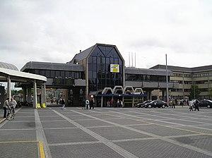Coast Tram (Belgium) - Image: Tramstation Oostende