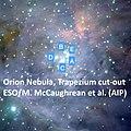 Trapezsterne im Orionnebel, Theta 1 Orionis A-E Identifikation.jpg