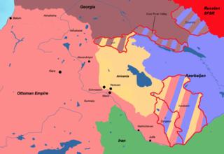 Treaty of Batum Treaty signed by the Democratic Republic of Armenia and the Ottoman Empire