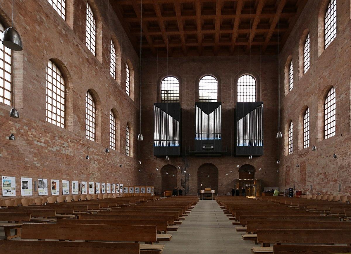 Orgeln In Der Konstantinbasilika Wikipedia