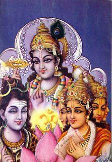 Trimurti Hinduisms triple deity of supreme divinity