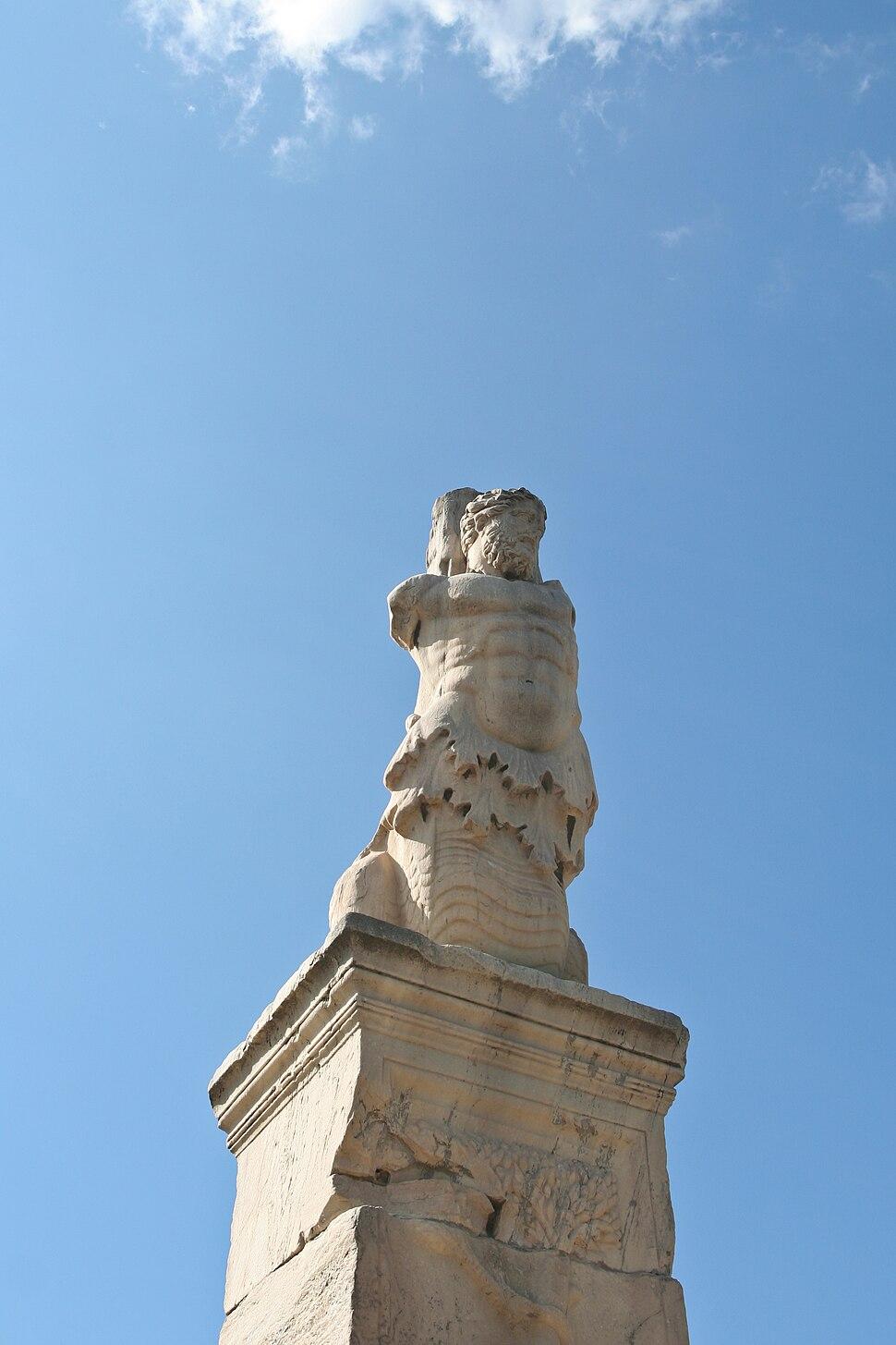 Triton. Odeon of Agrippa, Ancient Agora of Athens 2