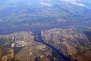Trois-Rivières aerial 2011
