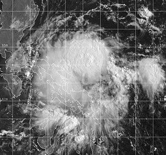 1999 Pacific typhoon season - Image: Tropical Storm Jacob 1999