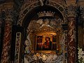 Trsat, Church of Our Lady, Painting of Virgin Mary and the child.JPG