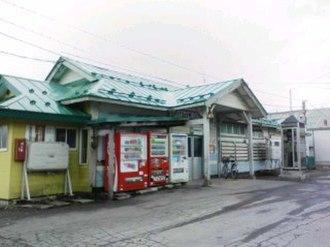 Tsugaru-Shinjō Station - Tsugaru-Shinjō Station in April 2007