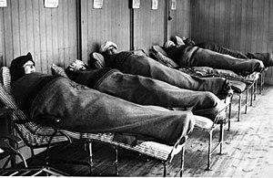 Tbc-patienterna på Söderby sanatorium får fris...