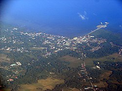 Aerial view of Tubigon
