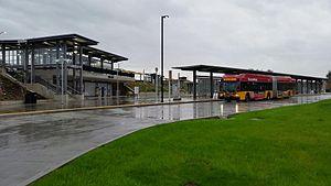 Tukwila station - Completed Amtrak station