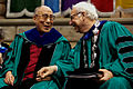 Tulane Commencement 2013 Sabree Hill-195 Dalai Lama Scott Cowen.jpg