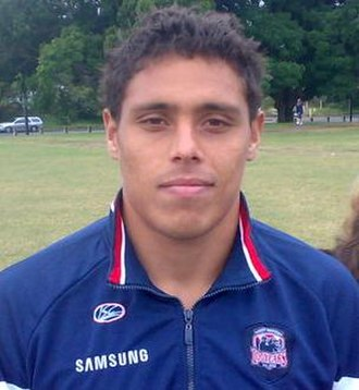 Anthony Tupou - Tupou while at the Roosters in 2008.