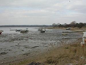 Turlin Moor - Coast of Turlin Moor at low tide