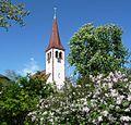 Turm der protestantischen Pfarrkirche in Eppstein - panoramio.jpg