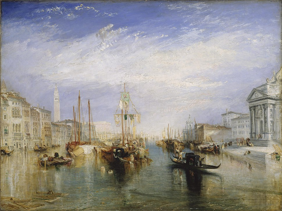 Turner, J. M. W. - The Grand Canal - Venice