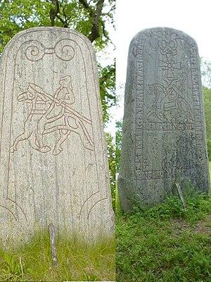 Uppland Runic Inscription 678 - Image: U678