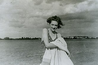 Operation Mincemeat - Photograph of the fictitious girlfriend Pam, carried by Martin
