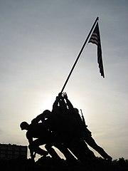 USMC Memorial Silhouette