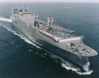 Large, Medium-Speed Roll-on/Roll-off - USNS Gordon at sea