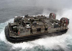 Hovercraft - U.S. Navy LCAC