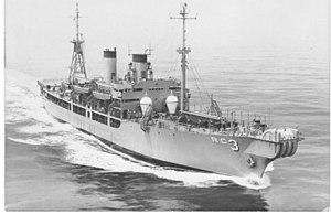 USS Turandot (AKA-47) - Turandot after conversion to Aeolus