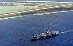 USS Theodore Roosevelt (CVN-71) underway off Wake Island on 26 October 2017 (171026-N-XC372-1915).JPG