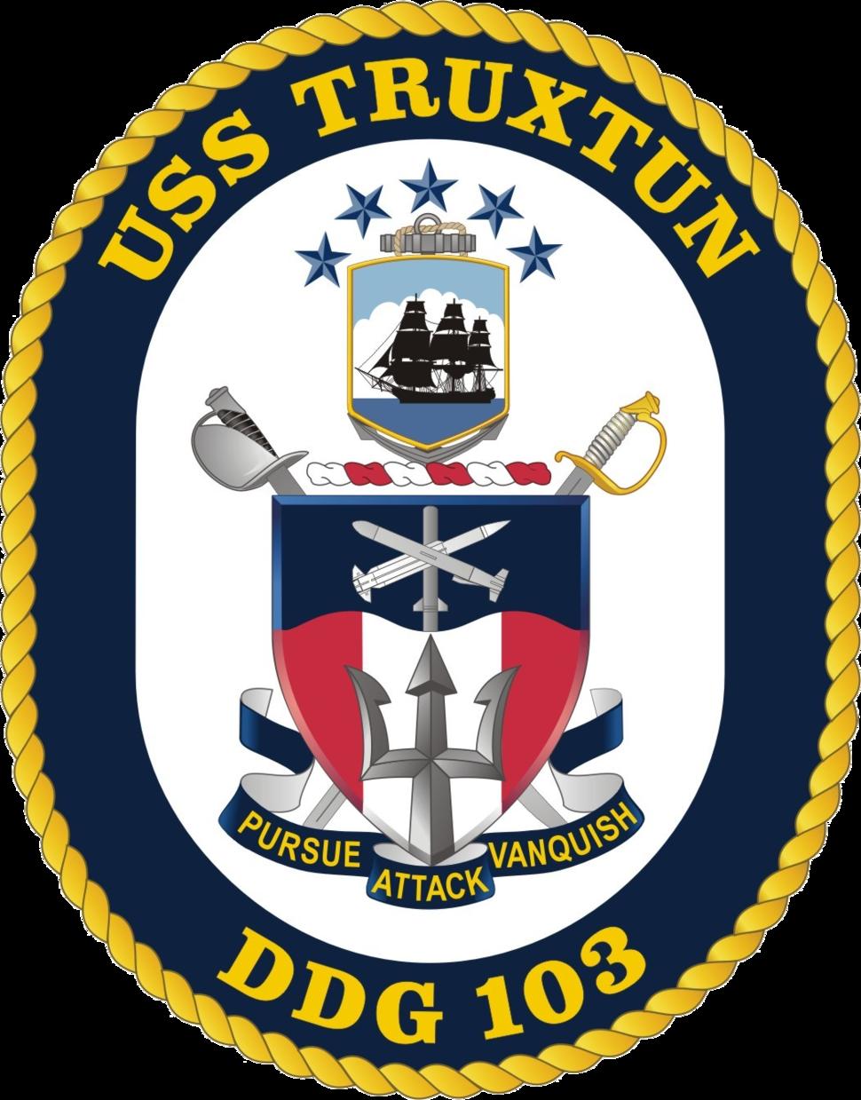USS Truxtun DDG-103 Crest